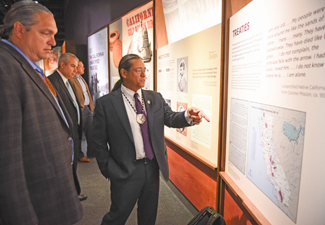 National Museum of the American Indian unveils secret treaty