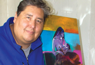 Cheyenne/Arapaho artist planning all Native nude art exhibit for OKC