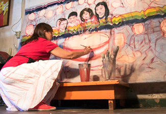 Murals for Osage schools now on display